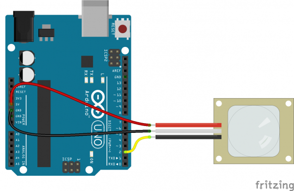 pir motion sensor arduino tutorial