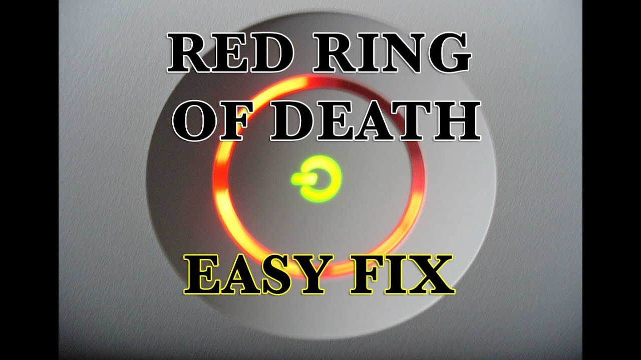 red ring of death fix tutorial xbox 360