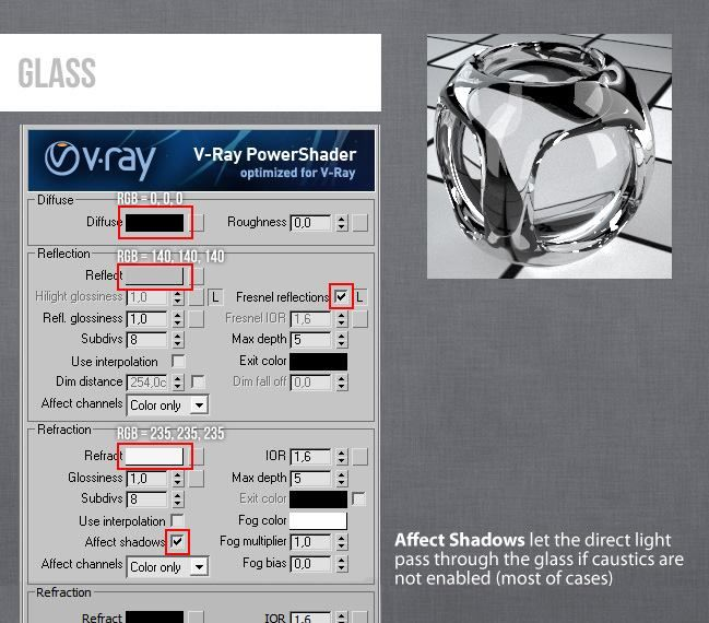 3ds max vray glass material tutorial