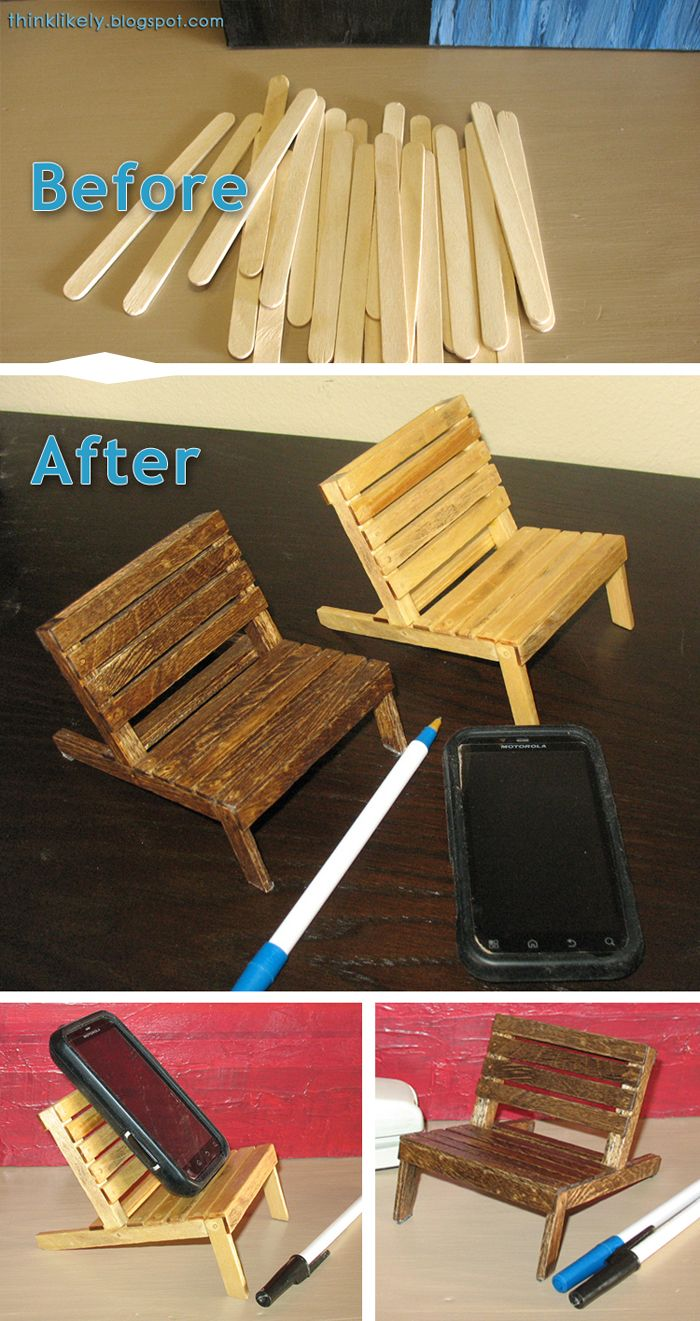 popsicle stick chair tutorial