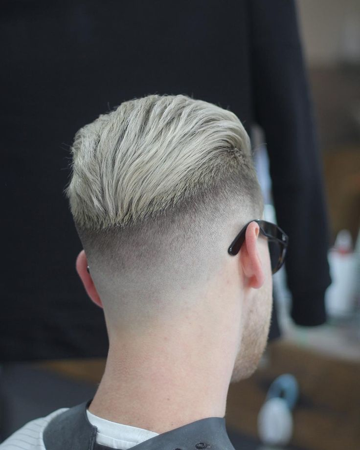 mens haircut short on sides long on top tutorial