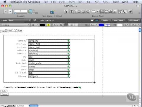 filemaker pro reports tutorial