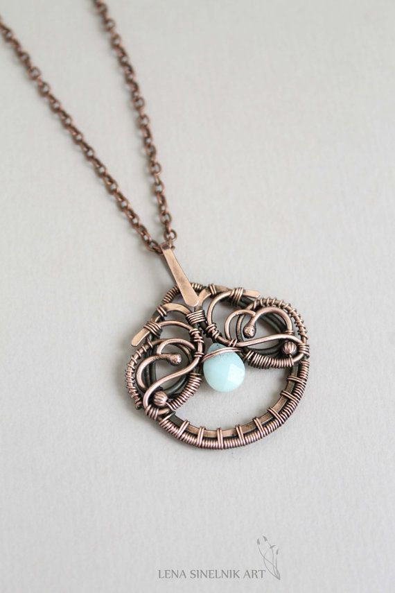 free wire wrapped pendant tutorial