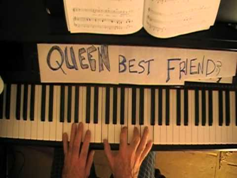 queen play the game piano tutorial