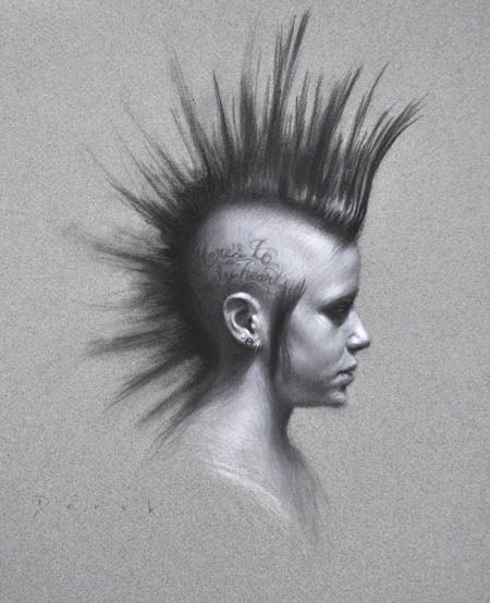 charcoal drawing tutorial step by step