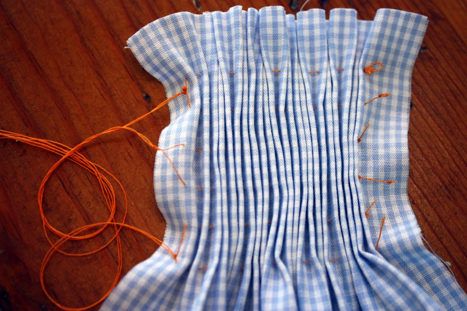 smocking tutorial step by step