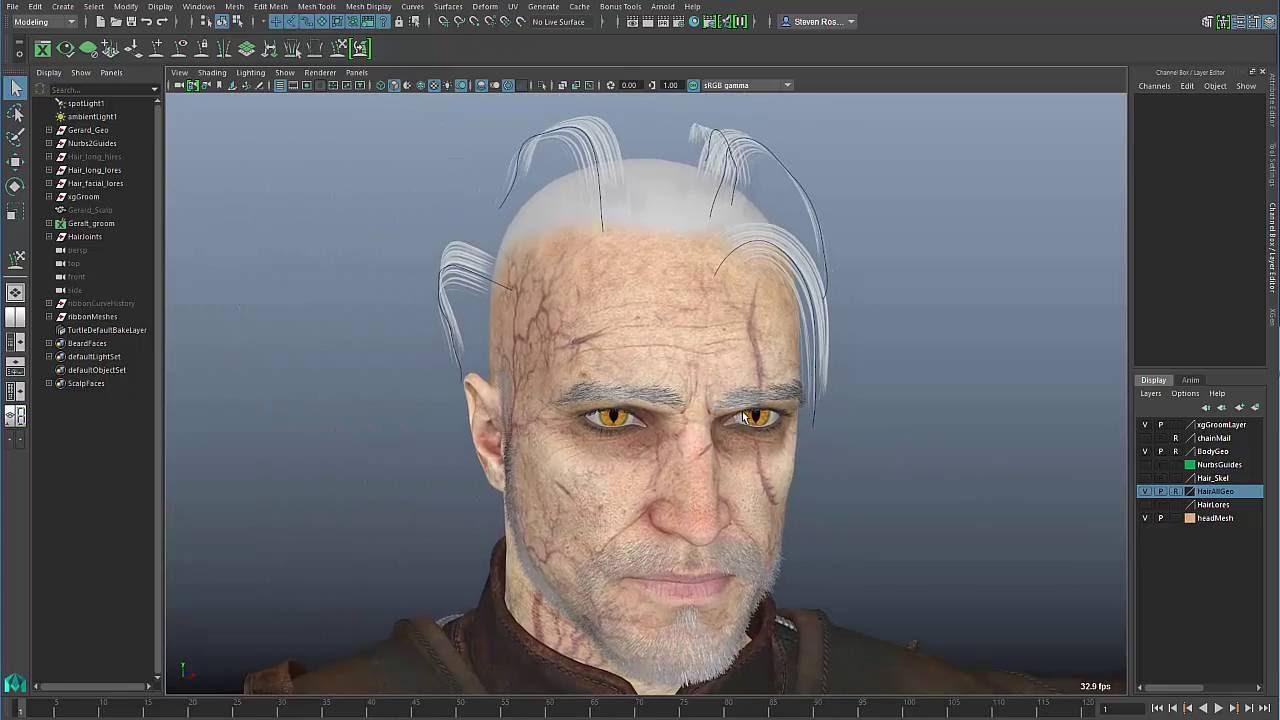 maya xgen hair tutorial