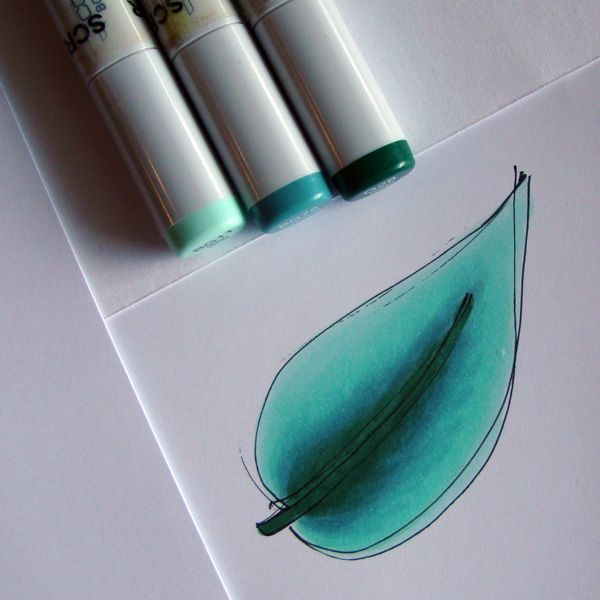 copic marker drawing tutorial