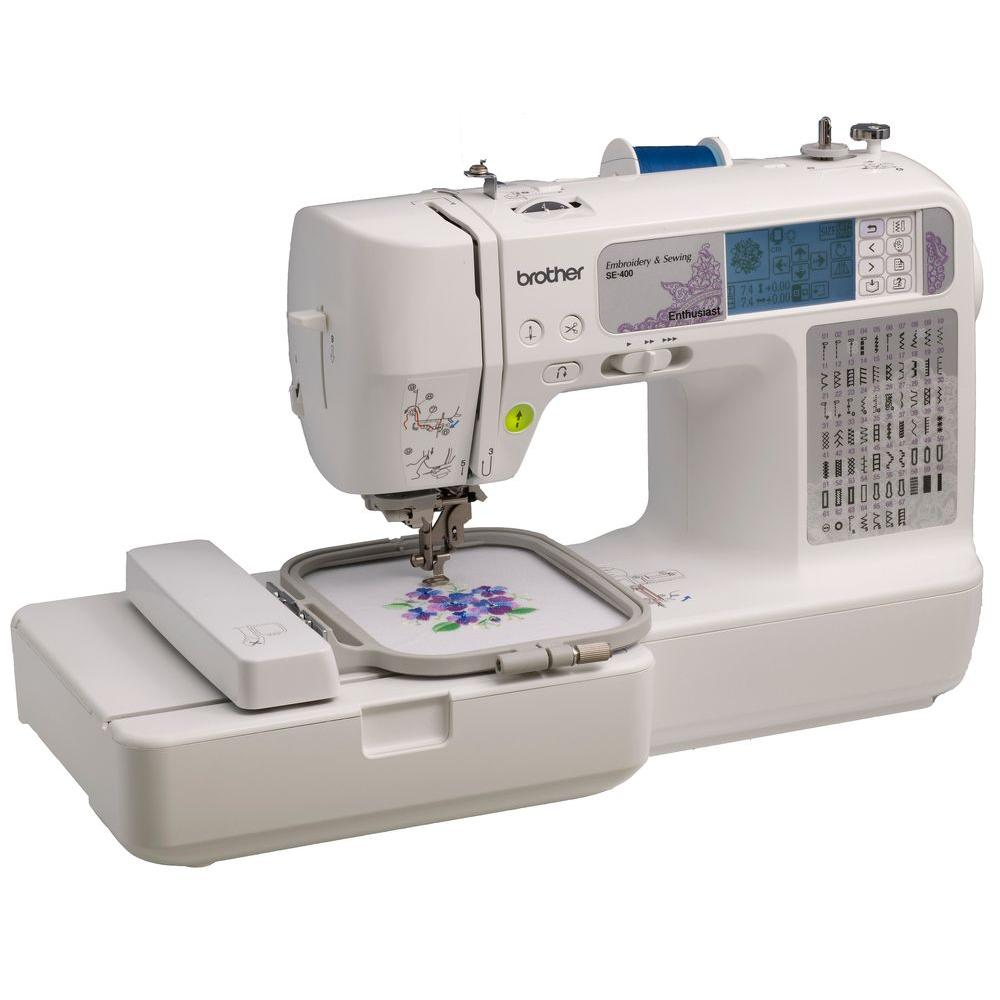 brother se400 embroidery machine tutorial