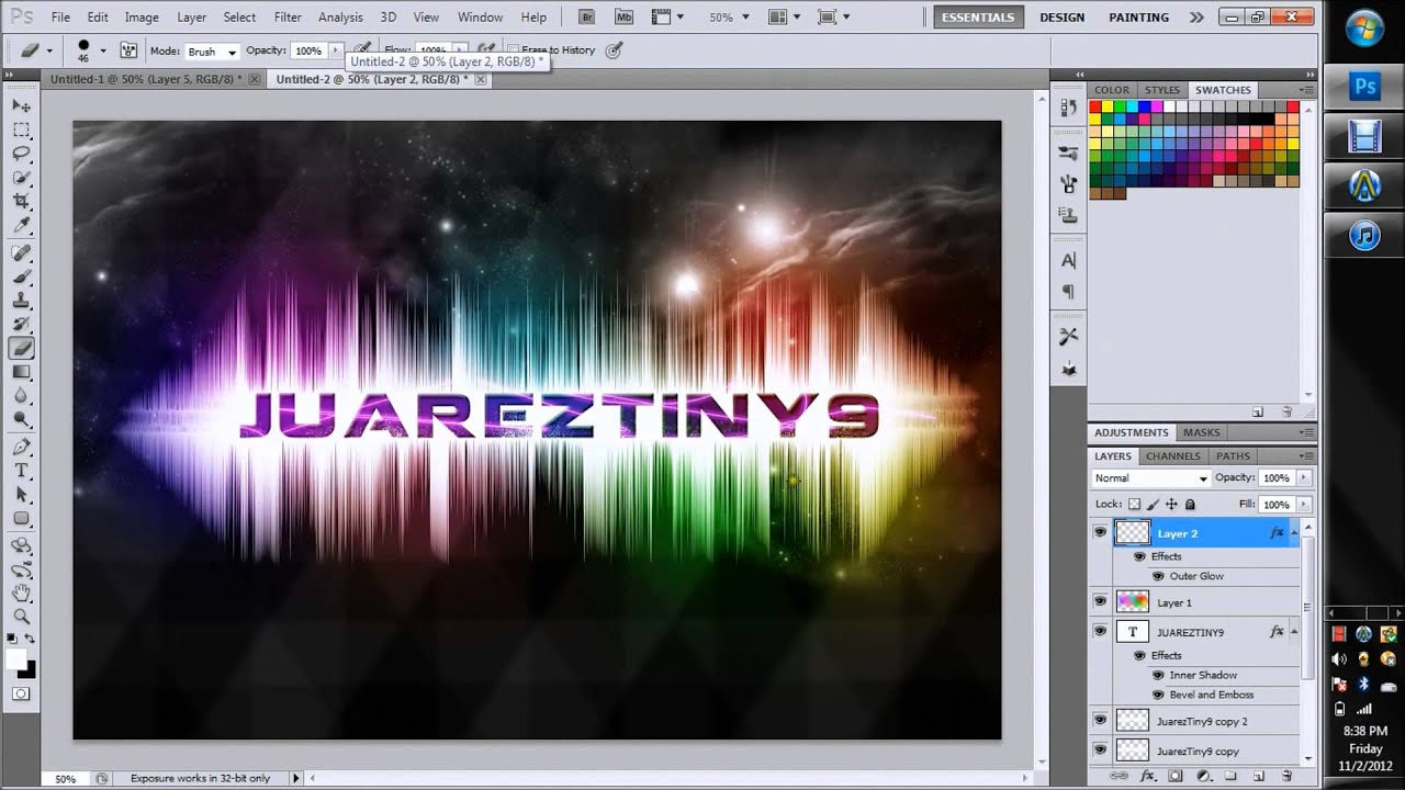 tutorial adobe photoshop cs5