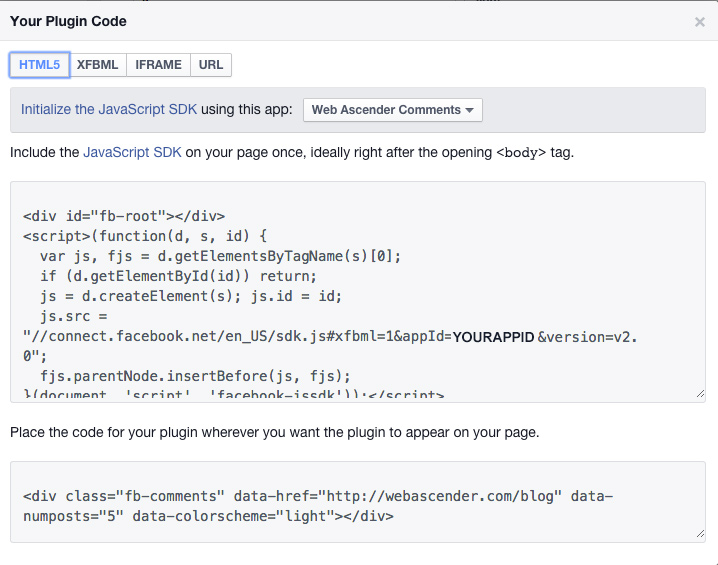 facebook app development tutorial