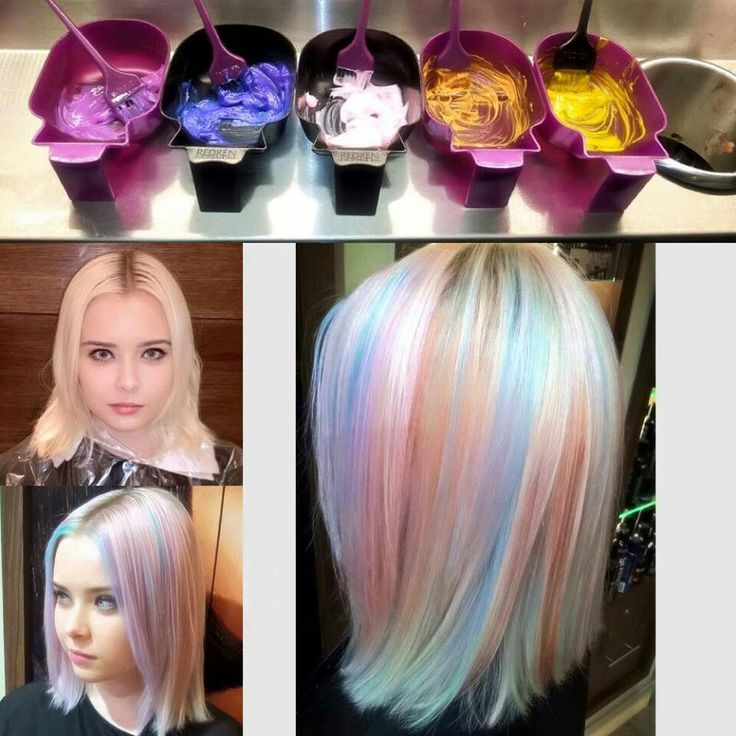 opal hair color tutorial