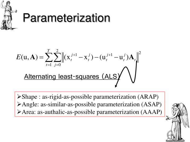 surface parameterization a tutorial and survey