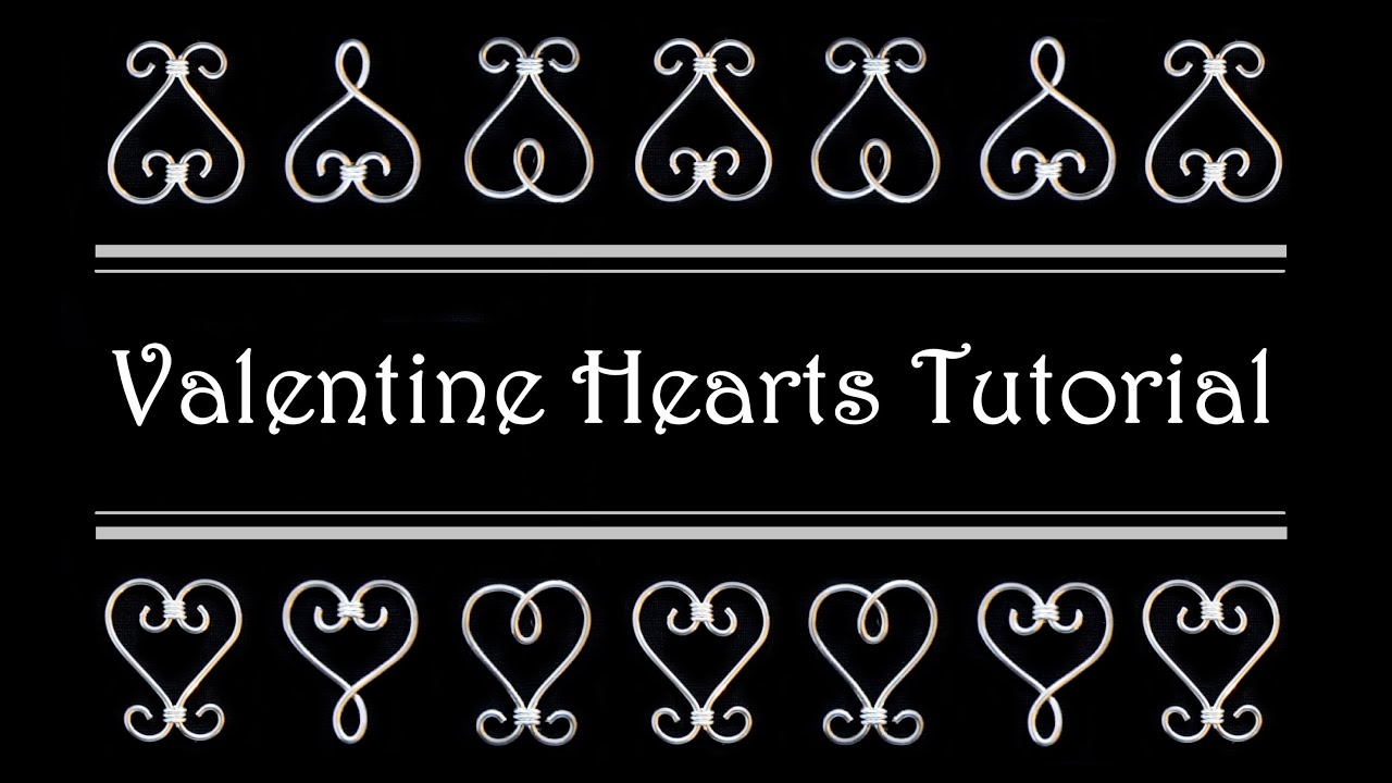 wire wrapped heart tutorial